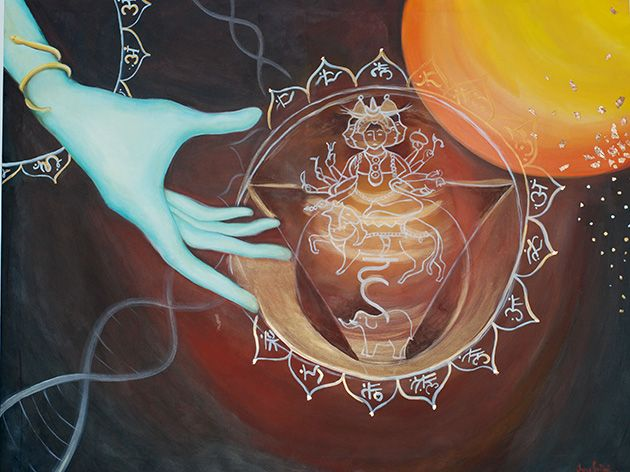 5th Chakra for meditation 180x80 - Available to order