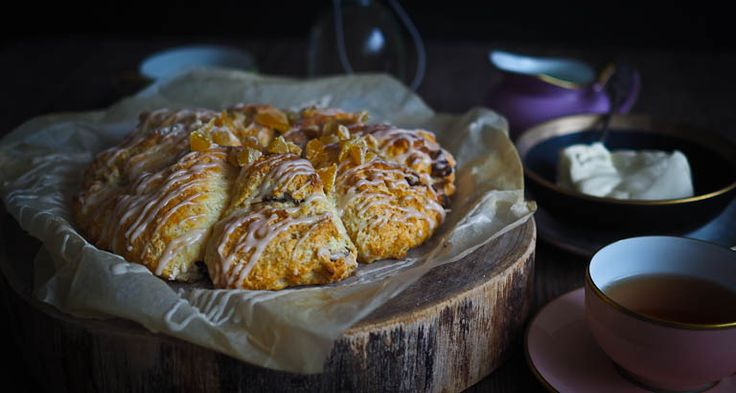 Incredibly Soft Date & Ginger Scones
