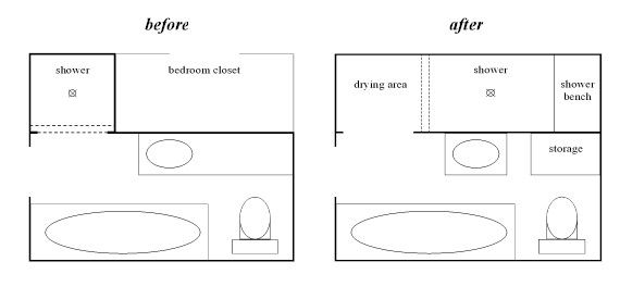 Small bathroom with shower design - Doorless Walk In Shower Design Simple Solutions The