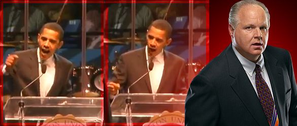 2007 Video Shows the Real Barack Obama: Angry, Race-Baiting, Fear-Mongering Liberal - The Rush Limbaugh Show