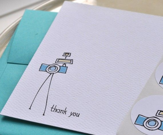 141 best card making business images on pinterest craft business camera thank you card and sticker set by emilyanndesigns on etsy 1600 colourmoves