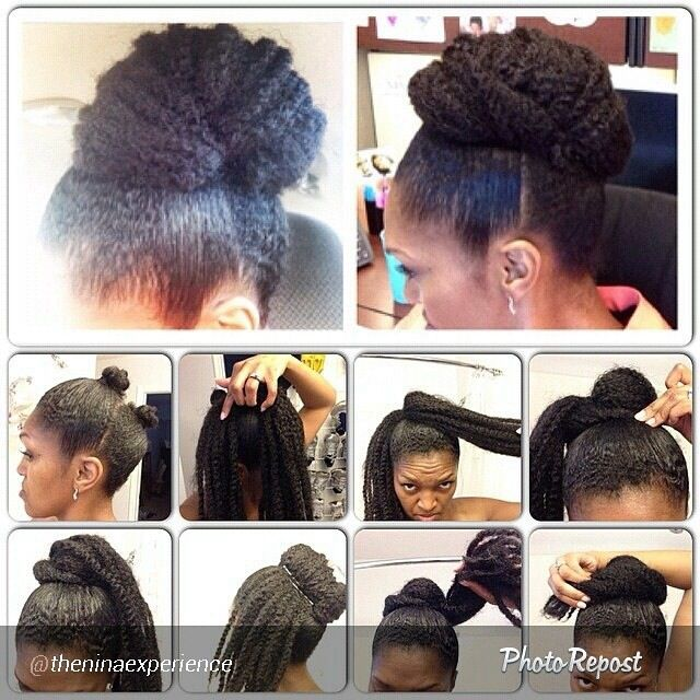{Grow Lust Worthy Hair FASTER Naturally} ========================== Go To: www.HairTriggerr.com ==========================     Good Looking Out!....Marley Hair Bun Protective Style
