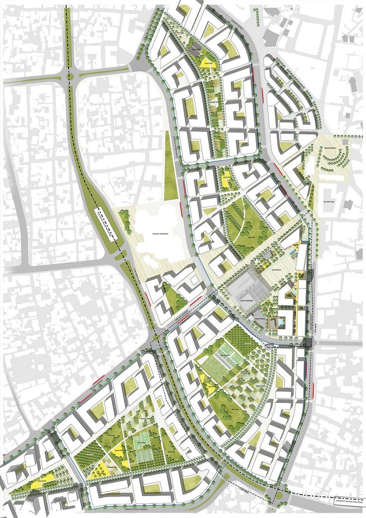 Urban plan Istanbul Turkey CDR