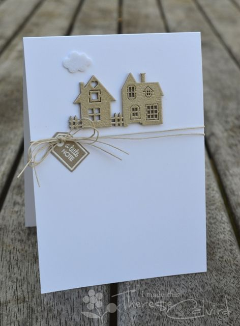 Lostinpaper - Muse - Little Note New Home Card