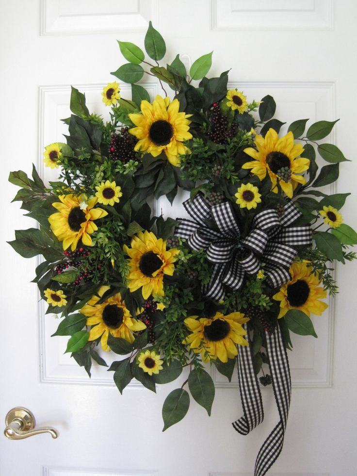 736 best Summer Wreaths & Swags images on Pinterest