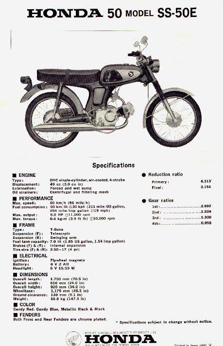1972 honda mini bike 50cc