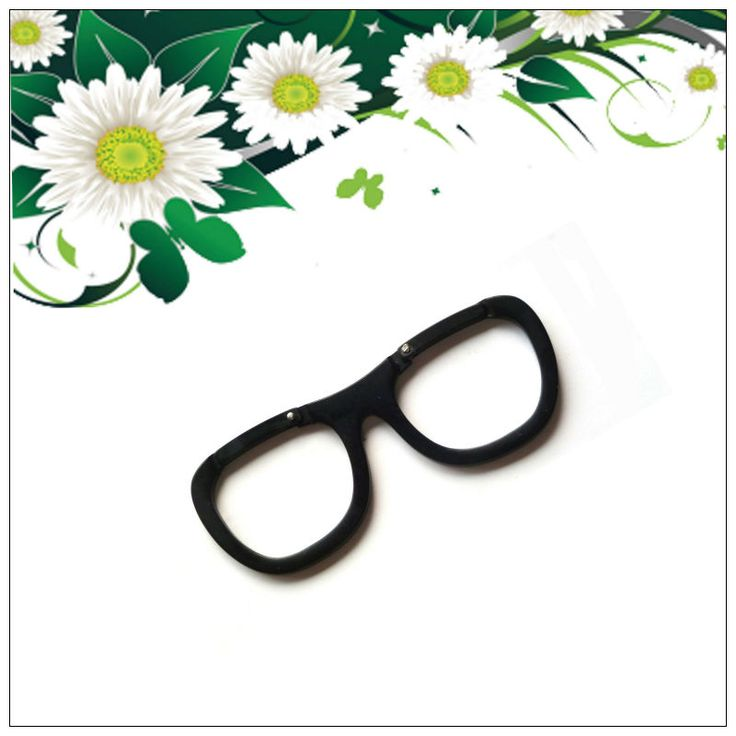 Glasses Shaped Mini Carabiner Hook
