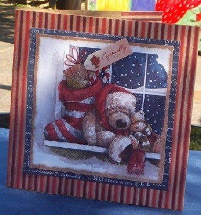 Wellington Christmas Card | docrafts.com