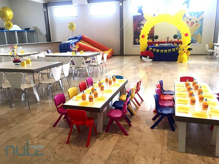 centros de mesa pokemon  arco de globos pokemon  fiesta infantil pokemon   pokemon  fiesta temática pokemon