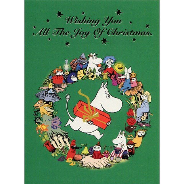 Merry Christmas to you all  #merrychristmas #moomins #moomintroll #moomin #snorkmaiden #snufkin #littlemy