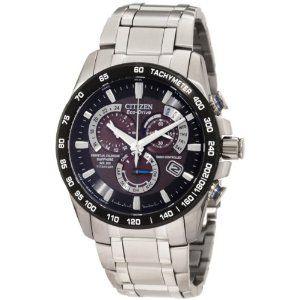 Citizen chronograph watches for men:Citizen Men's AT4010-50E Titanium Dress Watch