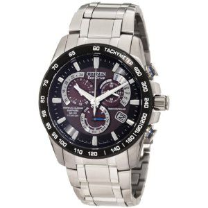 Citizen chronograph watches for men:Citizen Men's AT4010-50E Titanium Dress Watch