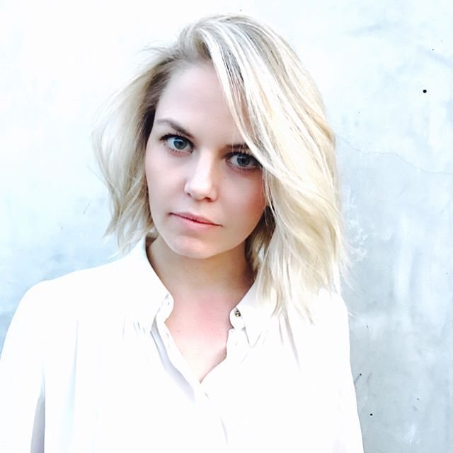 Jennifer Morrison's new icy blonde bob will inspire your next haircut