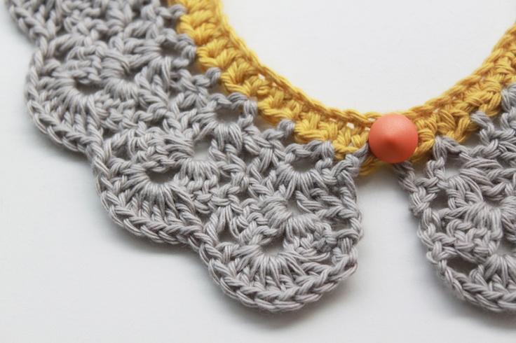 Lutter Idyl: Crochet Peter Pan Collar #naturadmc