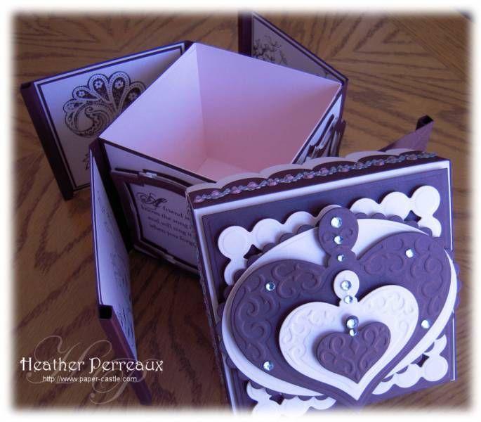 Pinwheel boxCajas Tarjetearía, Pinwheels Boxes, Paper Crafts, Boxes Tutorials Url, Boxes Templates