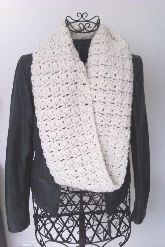 B comme... Beige! Nouveau Snood crochet tuto gratuit, free french crochet…