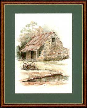 Olga Gostin… Old Stone Cottage... Country house near Sydney...