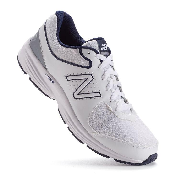 New Balance 411 v2 Men's Walking Shoes, Size: 11.5 Ew 4E, White Oth