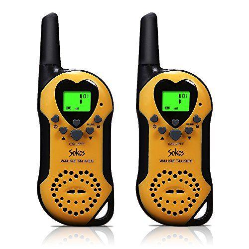 Walkie Talkies for Kids, 22 Channel Child Walkie Talkies 2 Way Radio 3 Miles (Up to 5Miles) FRS Handheld Walkie Talkie for Kids (Pair)   https://huntinggearsuperstore.com/product/walkie-talkies-for-kids-22-channel-child-walkie-talkies-2-way-radio-3-miles-up-to-5miles-frs-handheld-walkie-talkie-for-kids-pair/