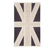 Union Jack Rug 8x10' Potter Barn Kids