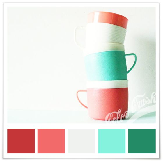 Color Pallete- teal wall color