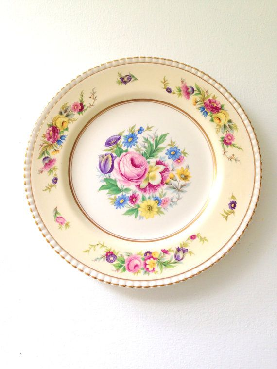 Vintage English China Fondeville Ambassador by MariasFarmhouse This reminds me of the china that my Mother had. Sweet memories.  Much better than the paper plate generation.