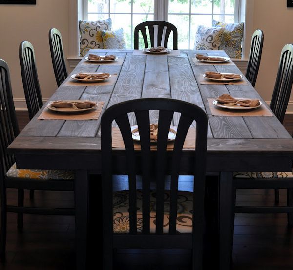 9 DIY Farmhouse Tables That You Can Make Yourself. Farm TablesDining Room  ...