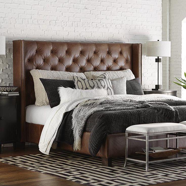 Custom Uph Beds Dublin Winged Bed 90