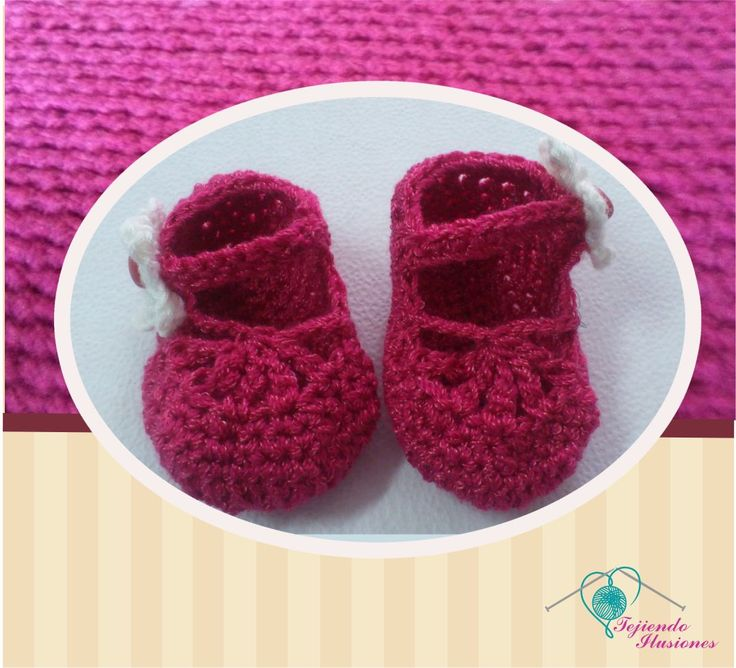 Modelo Nº 79: Zapatos verano, Hermoso Zapatos tejido a crochet con detalle en la parte frontal #crochet #Babyshoes #Zapatos  #Bebe