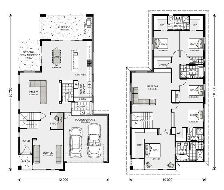 Bayview 370, Home Designs In Sydney   North (Brookvale) | G.J. Gardner  Homes · House DesignFloor PlansHouse ...
