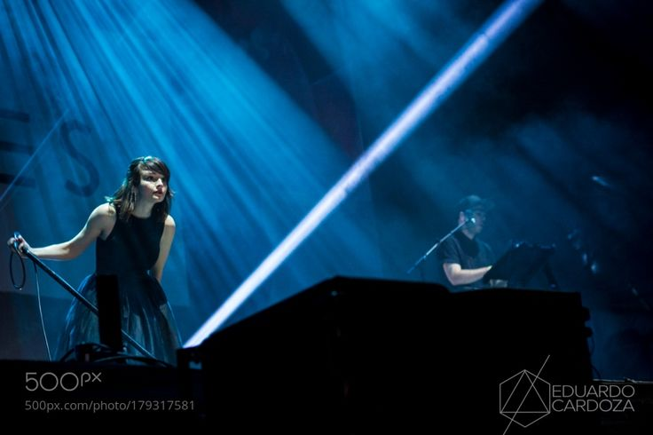 CHVRCHES - Live Out Monterrey 2016 by edcacontacto