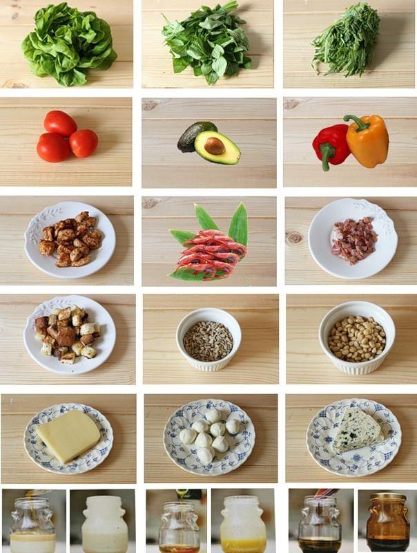 Ideal salad                                                                                               #food