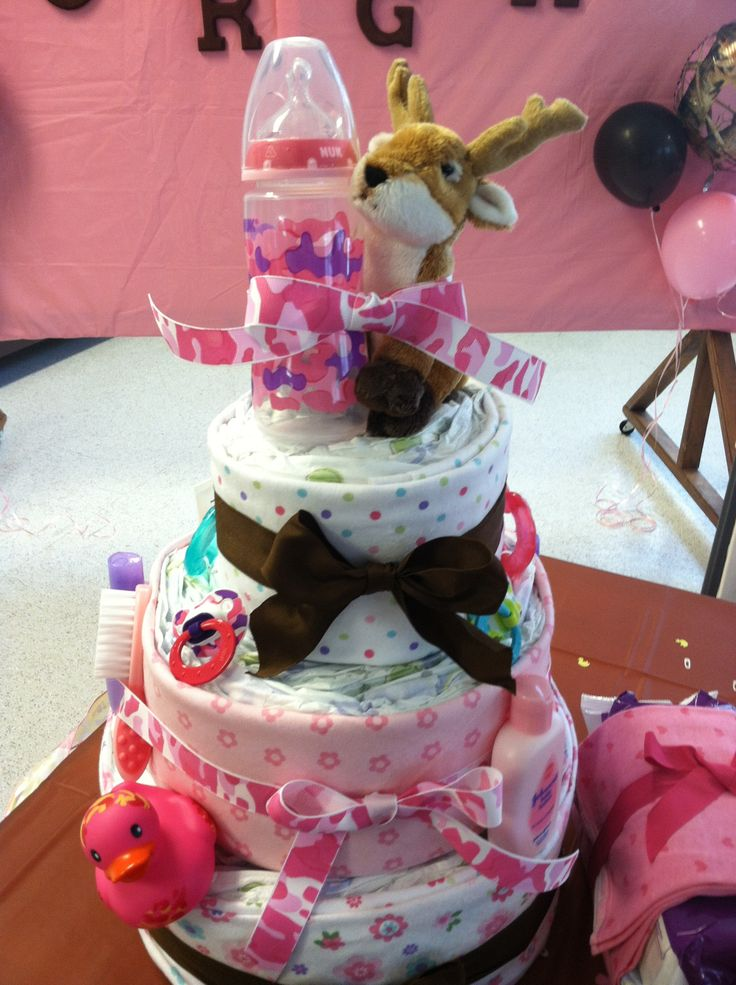 Camo Diaper Cake Decorations : 25+ best ideas about Camo Baby Cake on Pinterest Camo ...