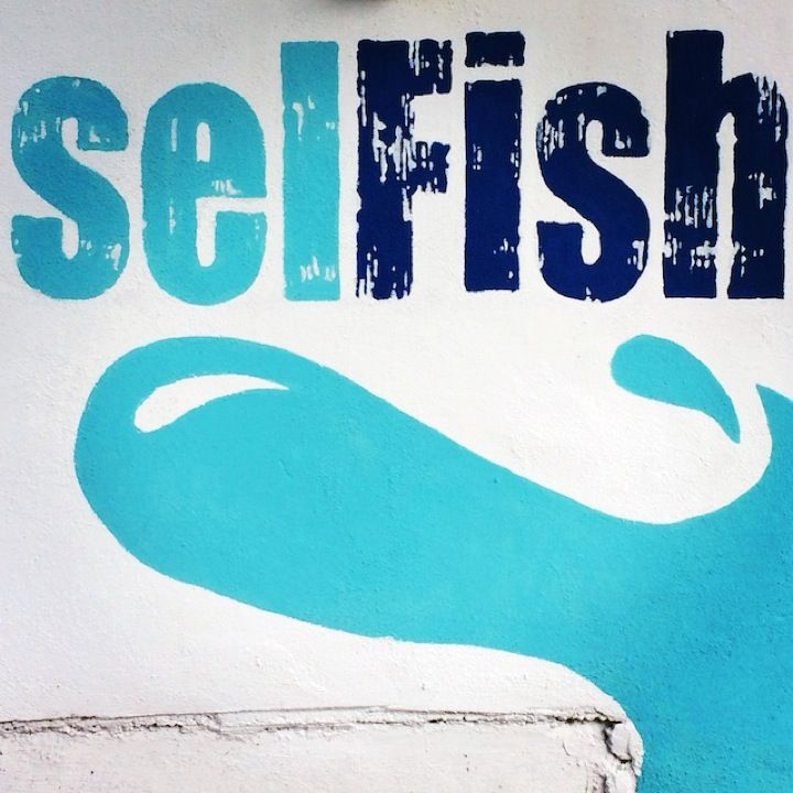 Selfish in Pointe aux Canonniers, Pamplemousses District
