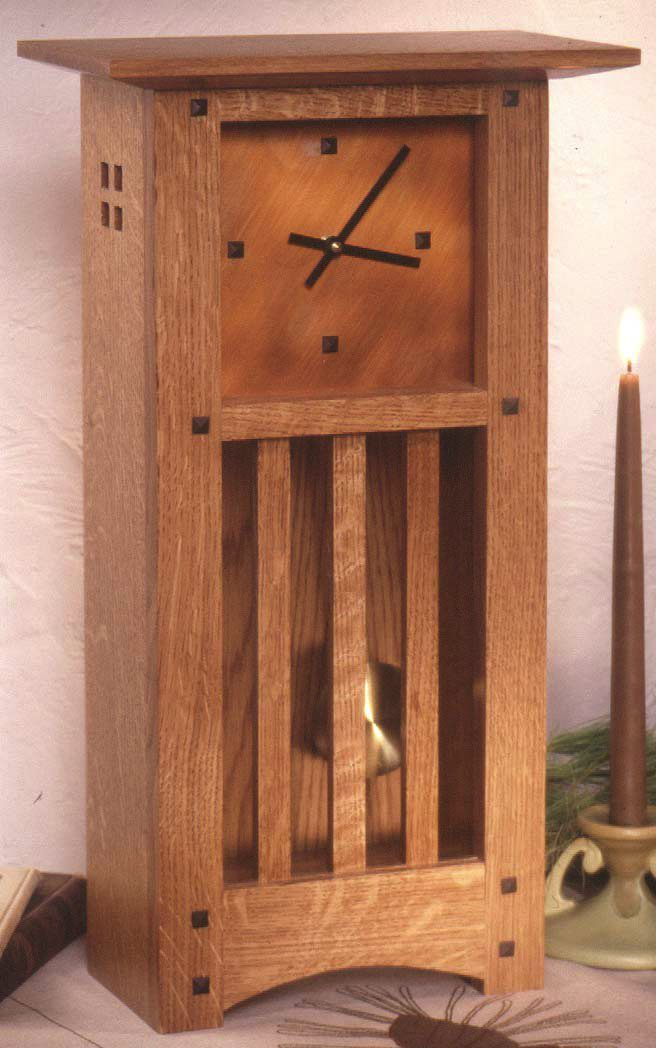 944 best images about furniture on pinterest craftsman for Small clocks for crafts
