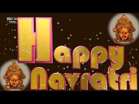 Navratri Animation,Happy Navratri 2016, Wishes,Images,Greetings,Ecard,Messages,Whatsapp Video - YouTube