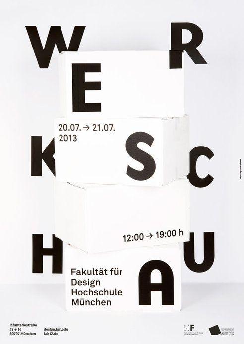 20.07.2013 – 21.07.2013  werkschau fakultät design hochschule münchen