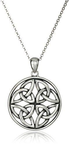 "Sterling Silver Celtic Knot Pendant Necklace, 18"" Amazon ... http://smile.amazon.com/dp/B0028K3CRI/ref=cm_sw_r_pi_dp_8Zjhxb16CHB75"