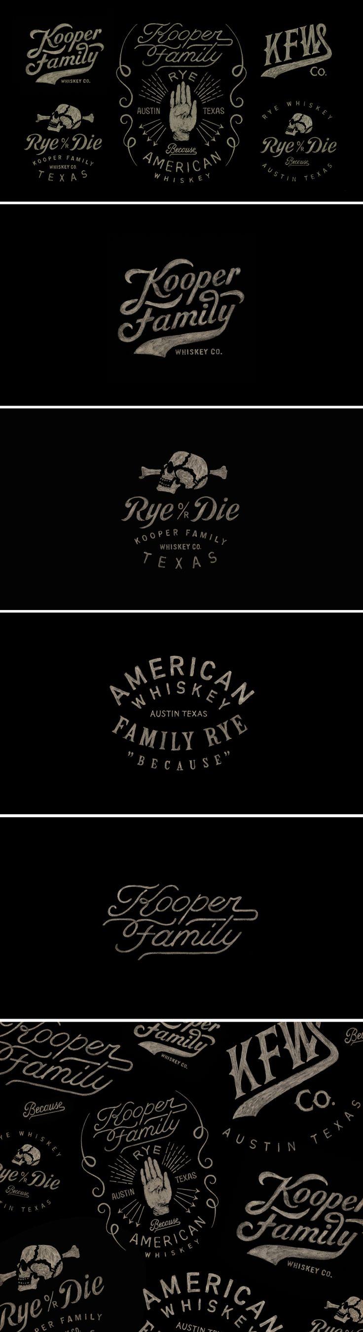 Kooper Family Whiskey / by / BMD Design
