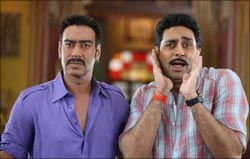 Raja Sen lists his reasons for not wanting to watch Rohit Shetty's latest comedy Bol Bachchan.
