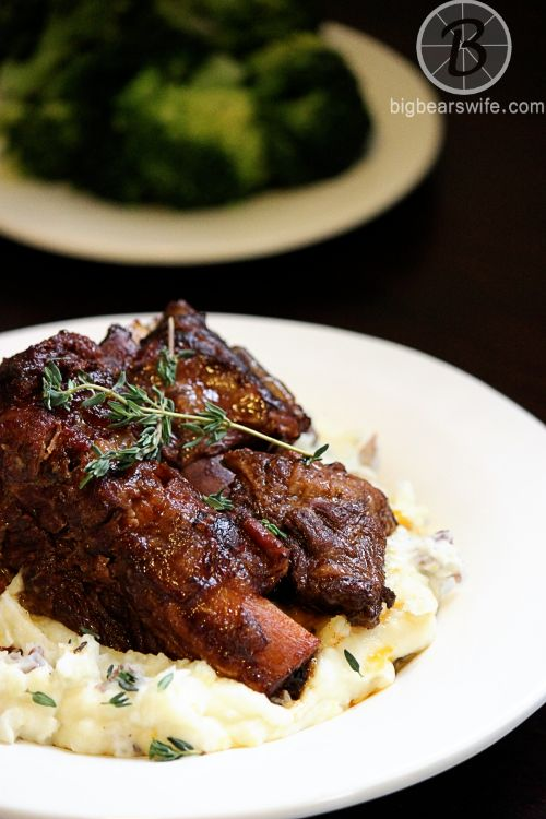 Ready to make one of the most popular recipes on BigBearsWife.com. These Slow Cooker Braised Short Ribs are always a hit!