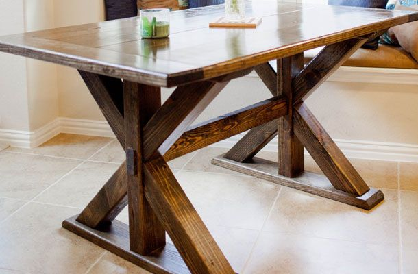 Corinth Trestle Dining Table For the home Pinterest  : 4888089b9d40dca5df2acad4d717ba3b from www.pinterest.com size 610 x 400 jpeg 41kB