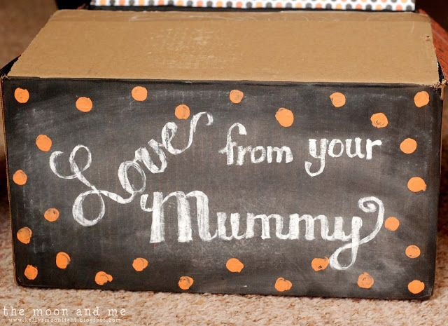 The Moon and Me: Love From Your Mummy: A Halloween Chalkboard Care ...