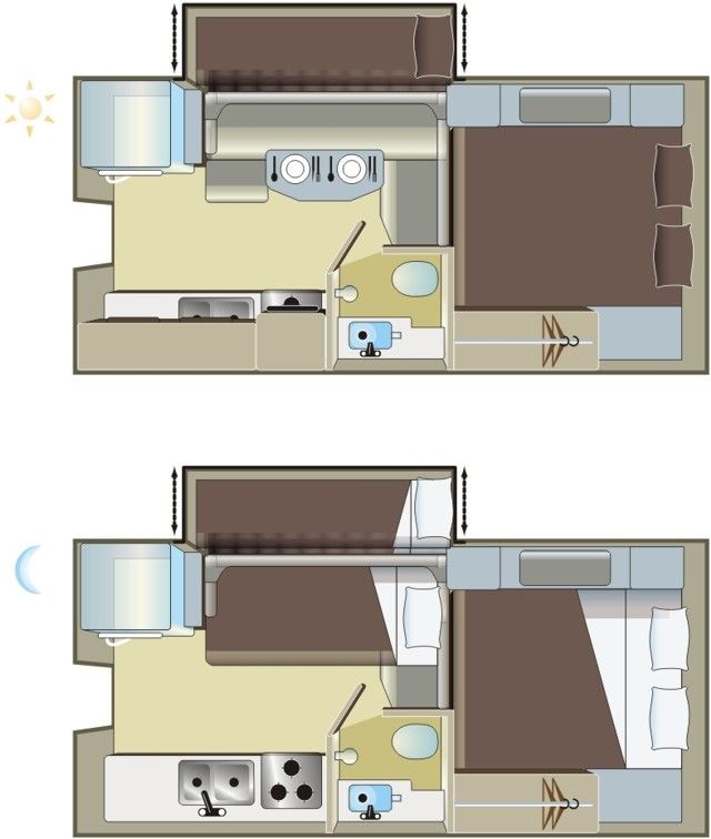 Rentals Truck Camper With Bunk Bed In Slide Out Fraserway Rv