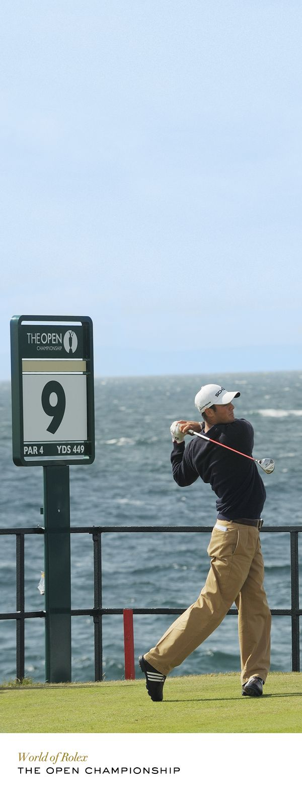 Martin Kaymer at The Open Championship in 2009. #Rolex #RolexOfficial