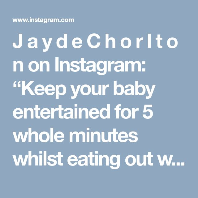 """J a y d e C h o r l t o n on Instagram: """"Keep your baby entertained for 5 whole minutes whilst eating out with a straw 👏🏼🐓 #nandos #thankmelater #babyhack"""""""