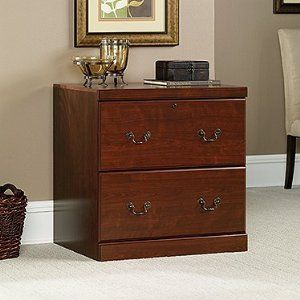 heritage hill 2 drawer lateral wood file cabinet in cherry 152