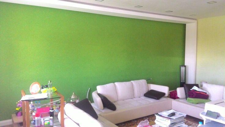 Çimen rengi ofis
