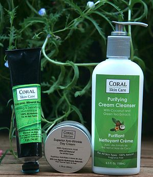 CORAL Skin Care all natural