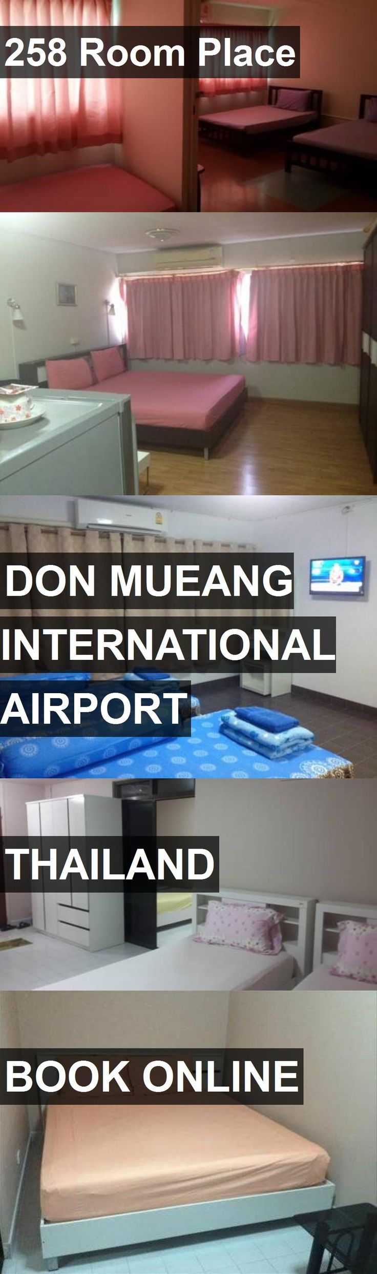 Hotel 258 Room Place in Don Mueang International Airport, Thailand. For more information, photos, reviews and best prices please follow the link. #Thailand #DonMueangInternationalAirport #258RoomPlace #hotel #travel #vacation